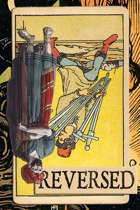 You are currently viewing Reversed Seven of Swords Meanings