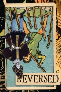 Read more about the article Reversed Seven of Wands Meanings