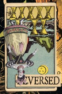 Read more about the article Reversed Eight of Cups Meanings