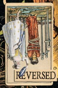 Read more about the article Reversed Eight of Swords Meanings