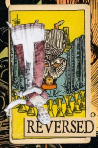 Read more about the article Reversed Nine of Cups Meanings