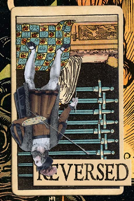 You are currently viewing Reversed Nine of Swords Meanings