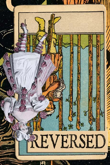 You are currently viewing Reversed Nine of Wands Meanings