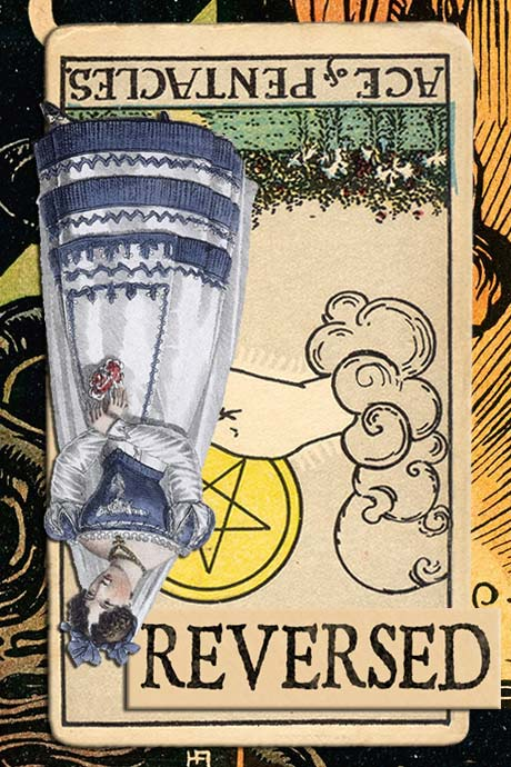 You are currently viewing Reversed Ace of Pentacles Meanings
