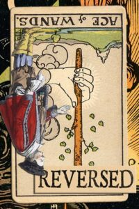 Read more about the article Reversed Ace of Wands Meanings