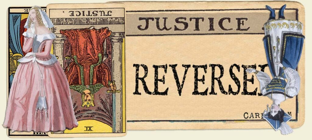 Reversed Justice main section
