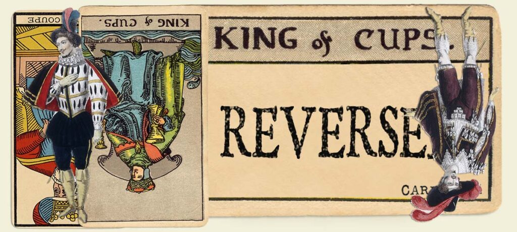 Reversed King of cups main section