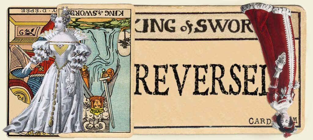 Reversed King of swords main section