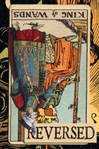 Read more about the article Reversed King of Wands Meanings