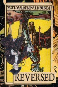 Read more about the article Reversed Knight of Pentacles Meanings
