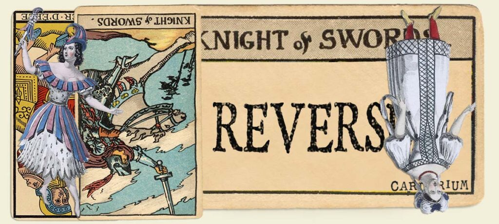 Reversed Knight of swords main section