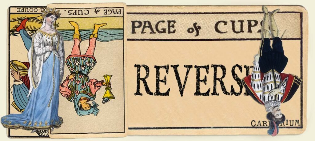 Reversed Page of cups main section