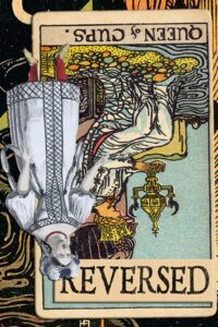 Read more about the article Reversed Queen of Cups Meanings