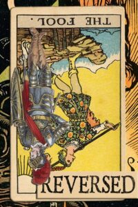 Read more about the article Reversed Fool Card Meanings