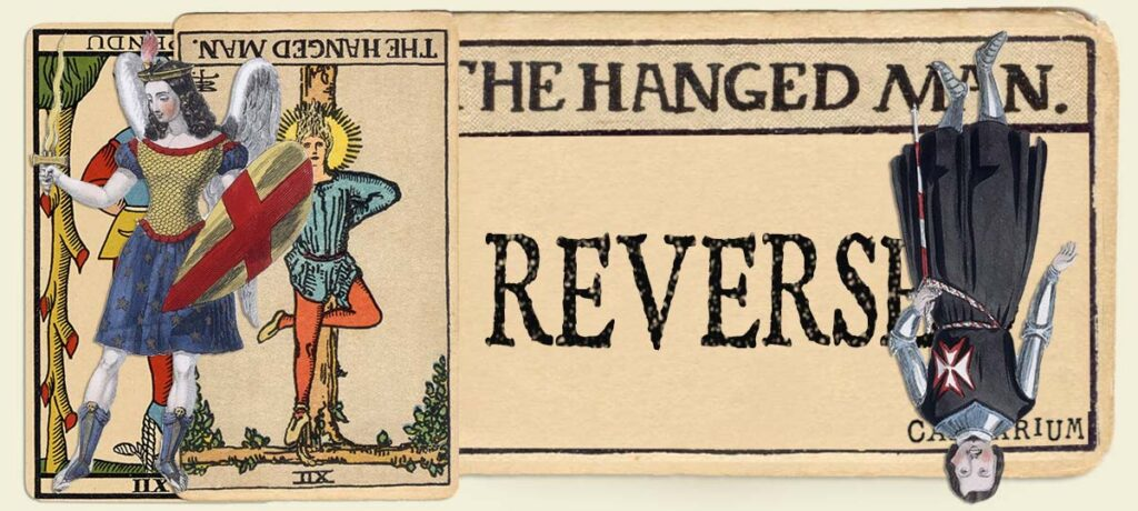Reversed The Hanged Man main section