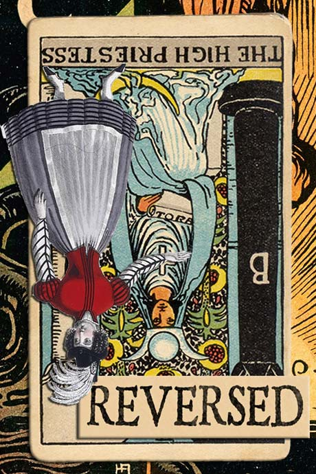 You are currently viewing Reversed High Priestess Card Meanings