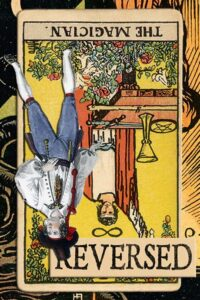Read more about the article Reversed Magician Card Meanings