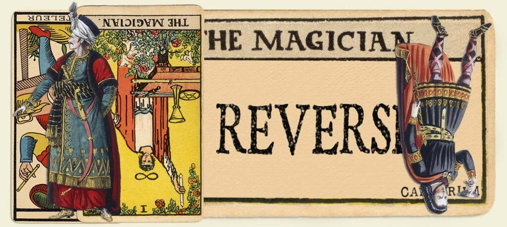 Reversed The Magician main section