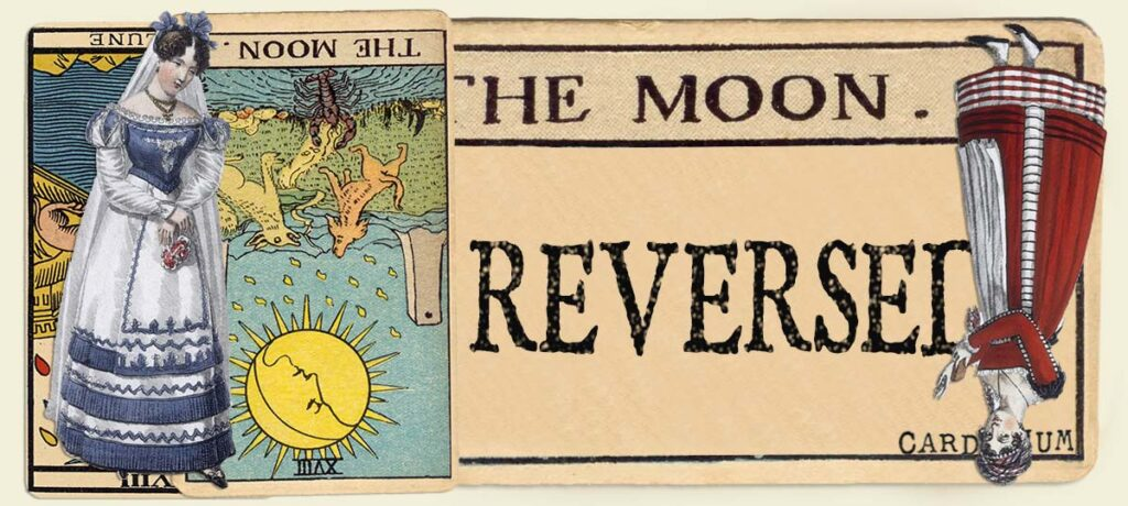 Reversed The Moon main section