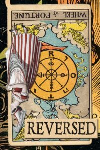 Read more about the article Reversed Wheel of Fortune Meanings