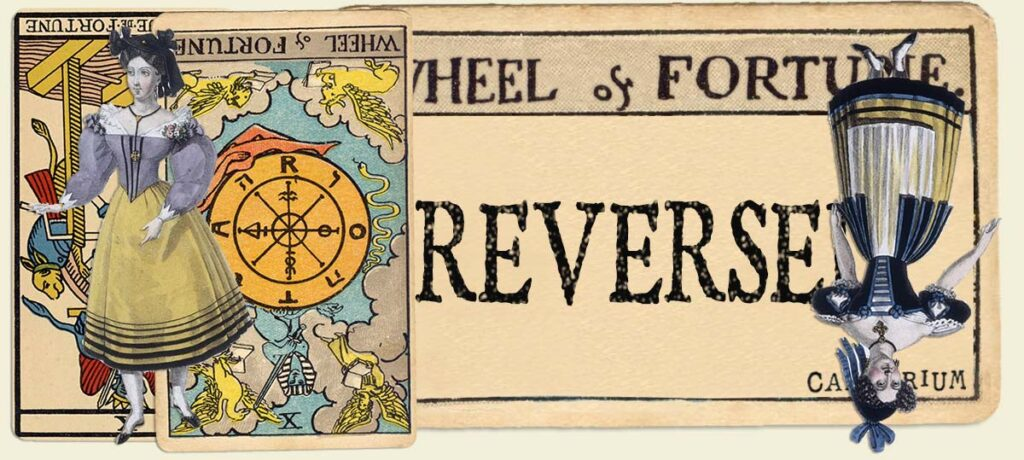 Reversed Wheel of Fortune main section