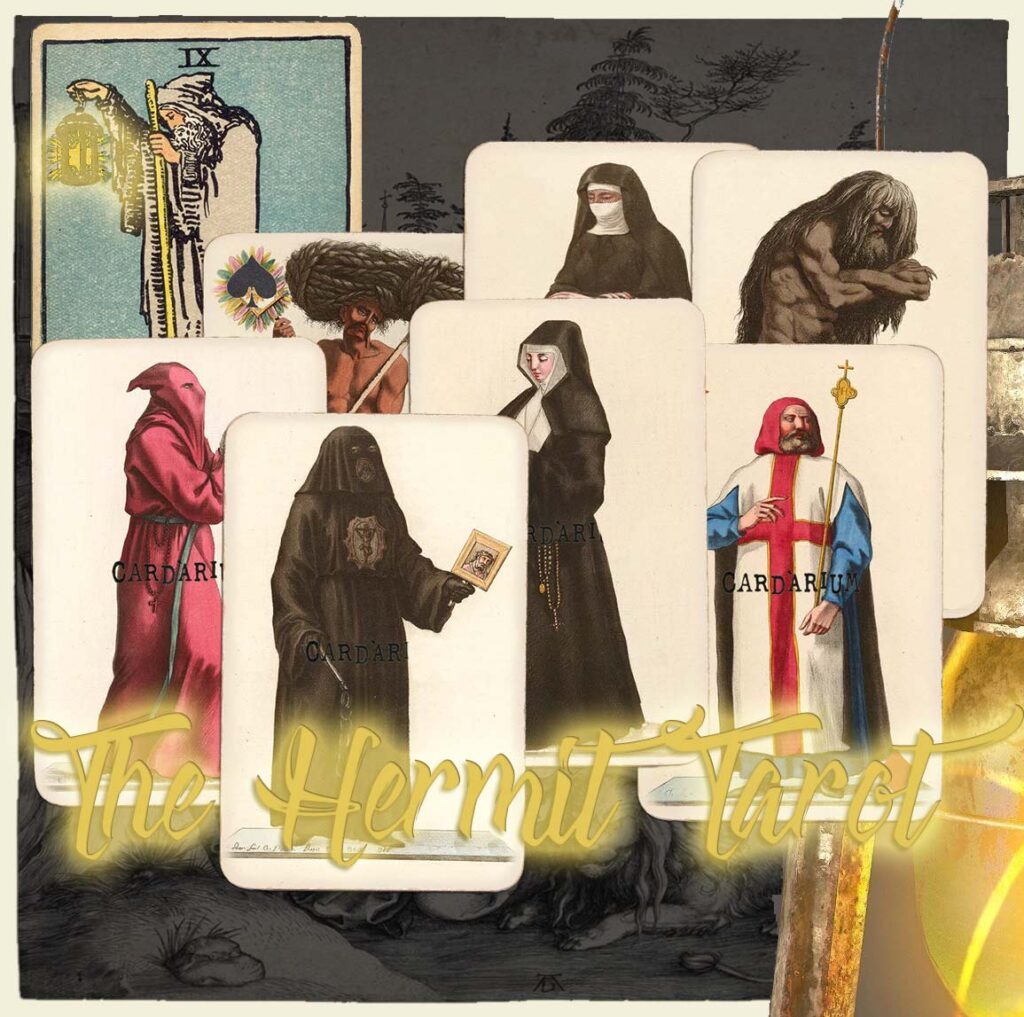 The Hermit combinations card reading cover image